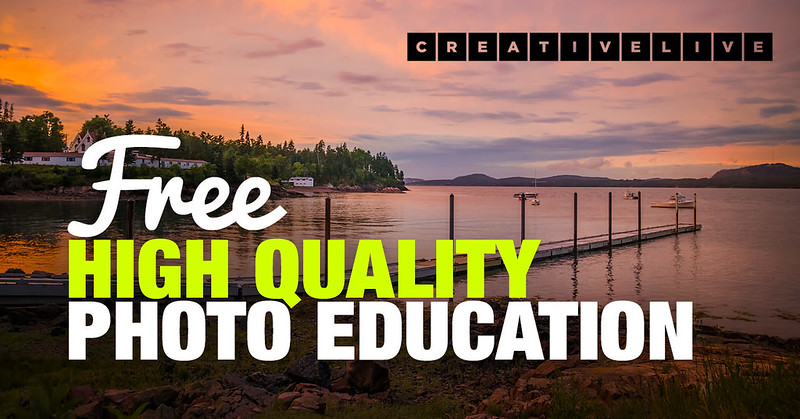 CreativeLive Review: Free High Quality Photo Education For All