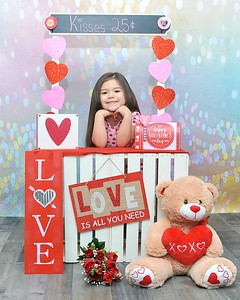 Kaitlyn Valentine's Day 2018