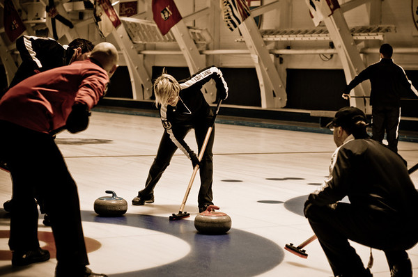 Curling at the Montreal Curling Club