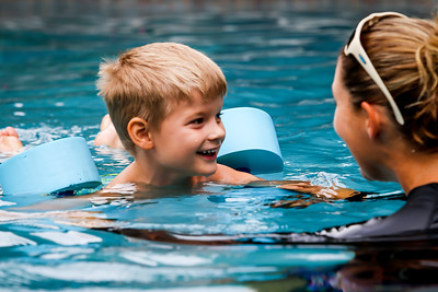 Swimming with Jordan