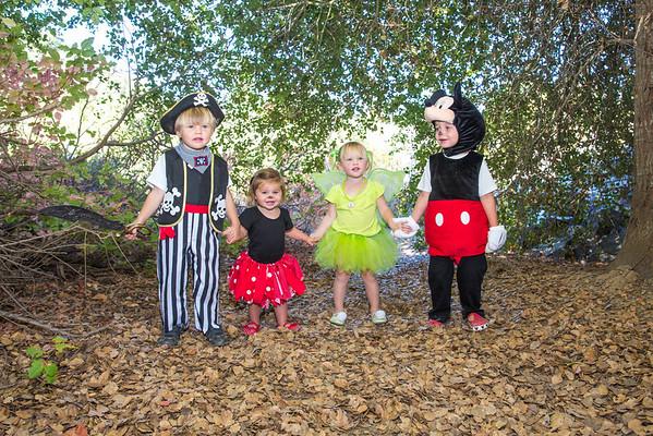 Donovan and Weyde Kiddos Halloween 2013