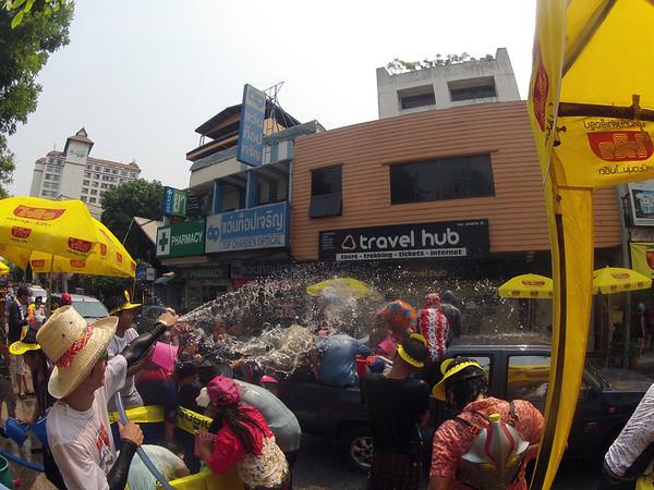 Songkran 2013 Chinag Mai Thailand