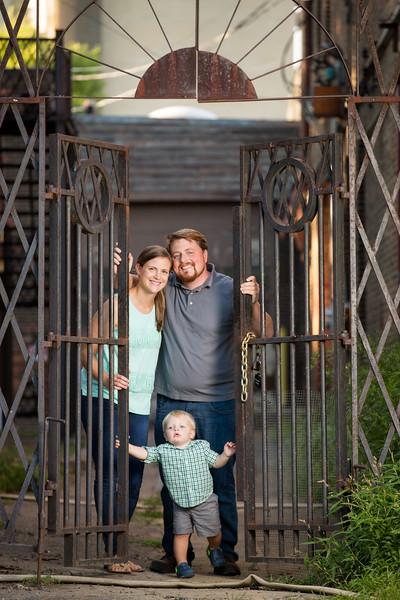 8.7 Family Portraits - Dan, Kate, Ben