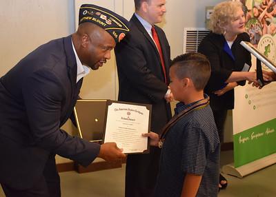 The American Legion School Award Medal Program Oct. 23, 2019
