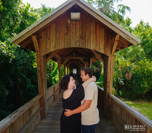 F.I.T. Botanical Gardens Engagement Session | Megan + William