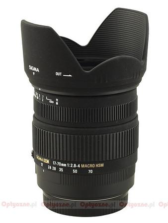 Sigma 17-70mm 2.8-4 DC OS HSM