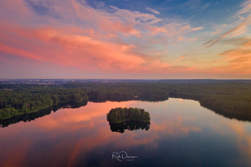 Spot Pond Sunset