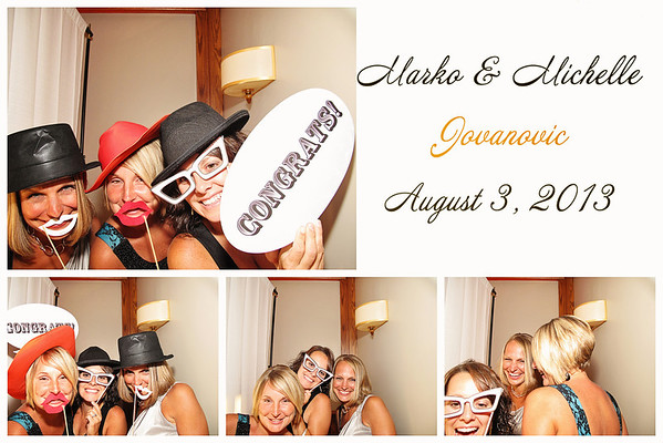 Michelle & Marko Wedding Photo Booth