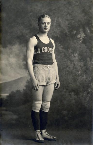 1911 UWL La Crosse Normal School Basketball Player.jpg