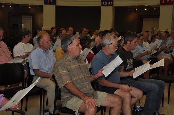9.11 Memorial Rehearsal Myers Park Baptist