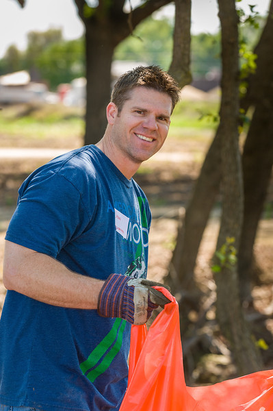 Mill Creek Cleanup - Photos by Ron Ludekens