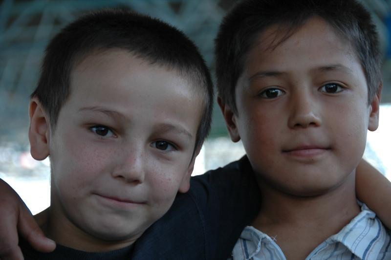 Young Bukharians - Bukhara, Uzbekistan