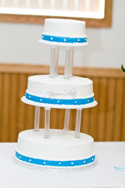 Cake Cutting - Stephanie and Jeff
