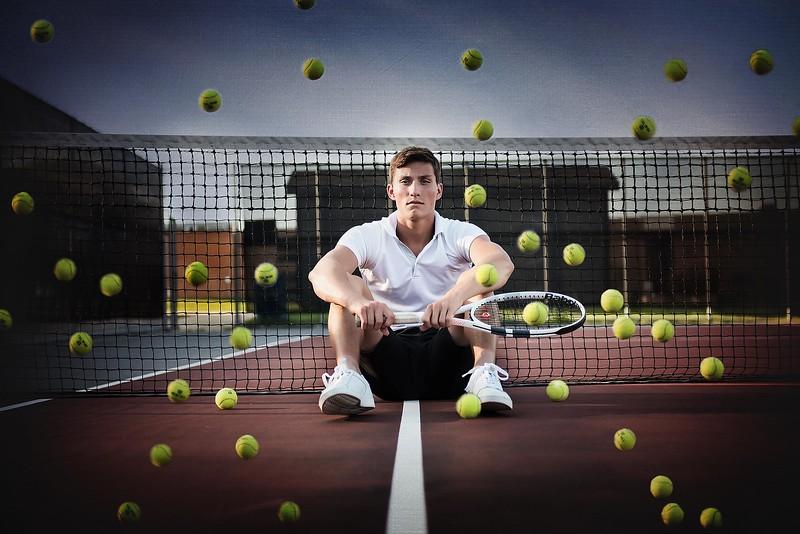 Senior guy - sports session - tennis - marion iowa - TruYou Photography - 1.jpg