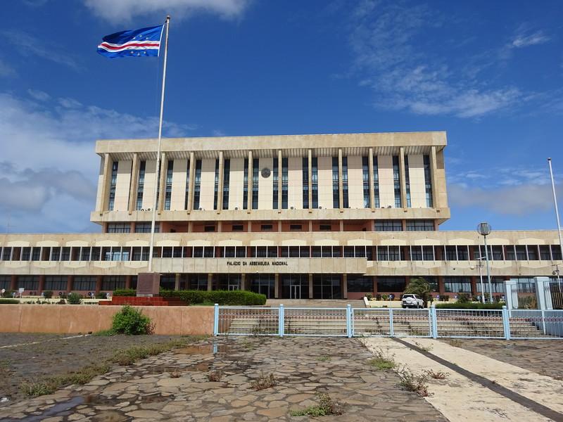 030_Santiago Island. Praia. National Assembly.JPG
