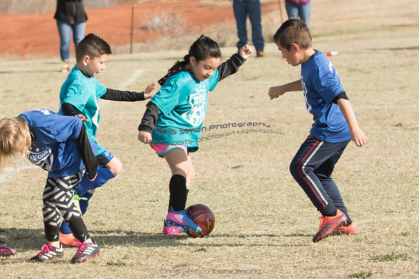 U8 - TEAL VS BLUE - MARCH 24
