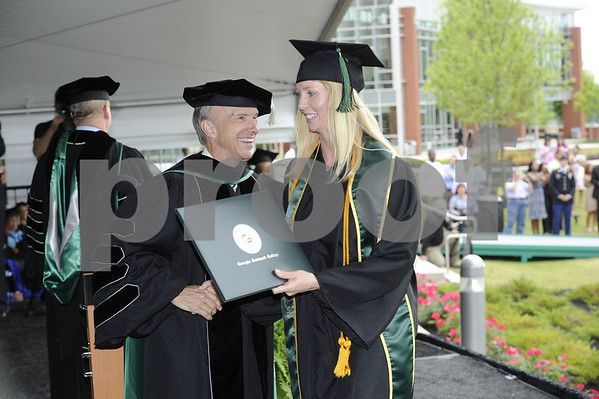 GGC Spring Grads with Dr. Kaufman