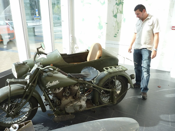 16-09-2011..bastogne and look around exposition...then Trip  back to the ferry for overnight crossing