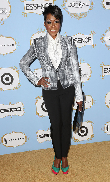 . Actress Tichina Arnold attends the Sixth Annual ESSENCE Black Women In Hollywood Awards Luncheon at the Beverly Hills Hotel on February 21, 2013 in Beverly Hills, California.  (Photo by Frederick M. Brown/Getty Images)