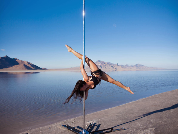 Salt Flats Pole Shoot
