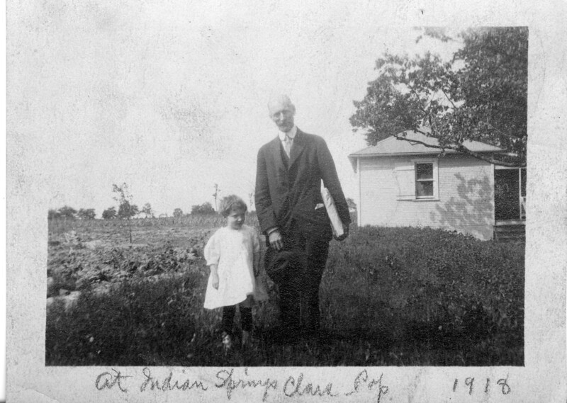 Clara Riley and her Grandfather