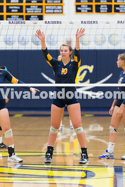 Volleyball: Woodgrove vs. Loudoun County 9.23.14 (by Chas Sumser)