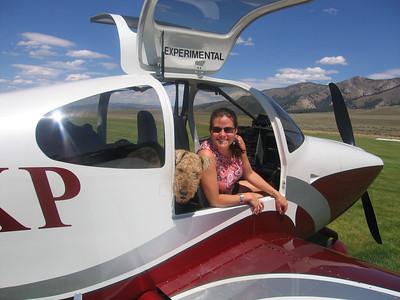 RV-10 Smiley Creek, Idaho August 2007
