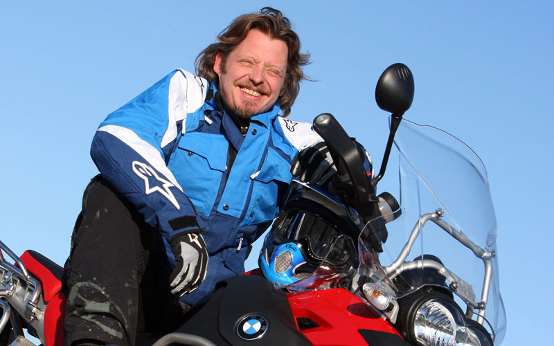 Charley Boorman on his R1200GS Adventure