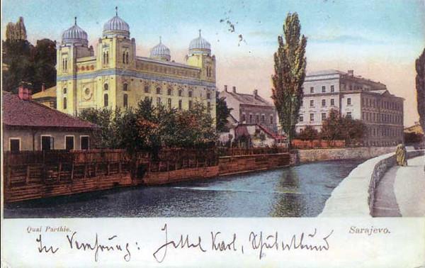 Hram askenskih Jevreja, 1908. g.