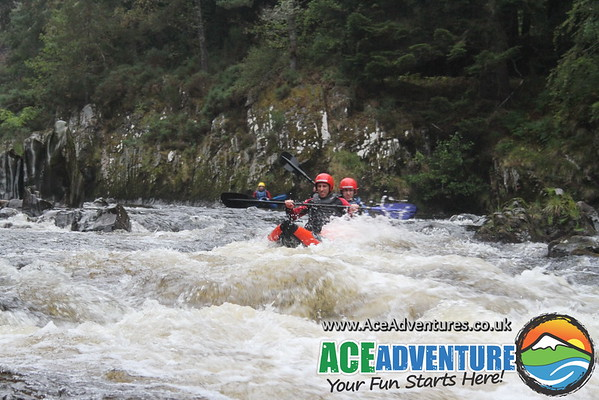 2nd August 2014 - Canoeing River Findhorn