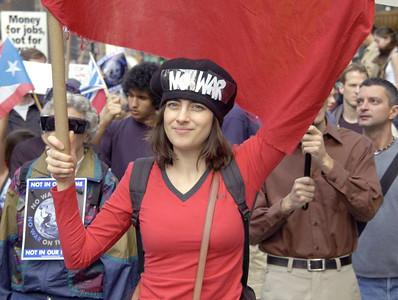 Iraq Anti-War Protests - 2003