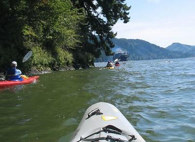 Columbia River rElderhostel Kayaking Part 6