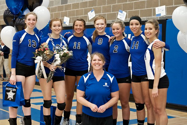 BHS Volleyball Senior Night 2011