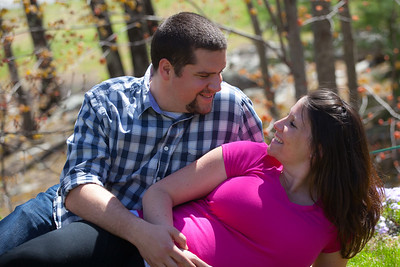 Sarah and Jake Maternity