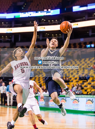1/8/2017 - Boys Varsity Basketball - TD Garden - Wellesley vs Needham
