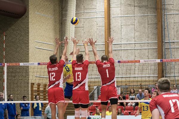 EM-Kvalifikations kamp Danmark - Sverige