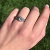 1.11ct Old European Cut Diamond Filigree Ring 14