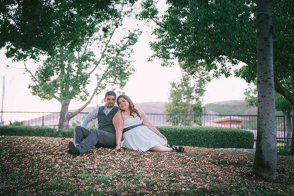 Oscar Ireina Chino Hills Engagement
