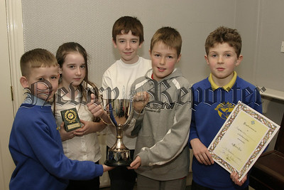 Irish Schools Drama Society, Prizewinners from Competition, Bunscoil an Luir , Best new script. 06W08N60