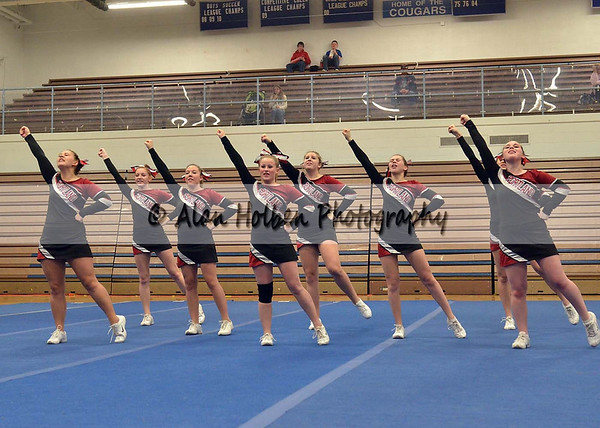 Cheer at LCC - Portland Varsity - Round 1 - Jan 25