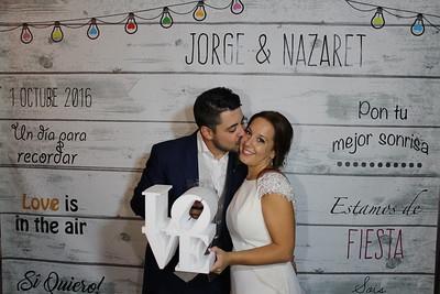 Boda Nazaret & Jorge 01-10-2016
