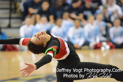 2-14-2015 Einstein HS Varsity Poms at Richard Montgomery HS MCPS Championship, Photos by Jeffrey Vogt Photography with Kyle Hall