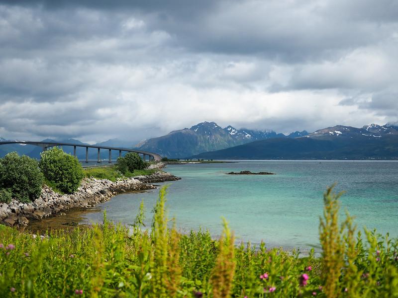 Hadsel Bridge to Stokmarknes