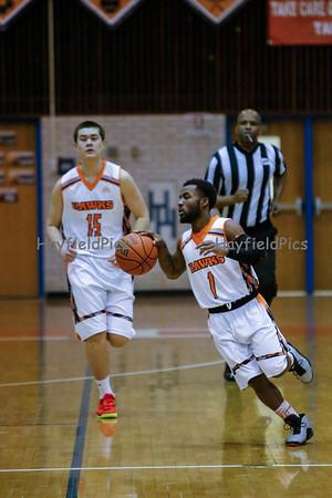 Boys Varsity Basketball v Woodson 2/28/15