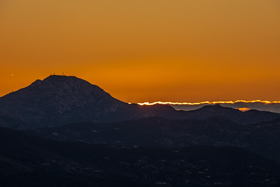 Cowles Mountain - New Year's Sunrise - 2019