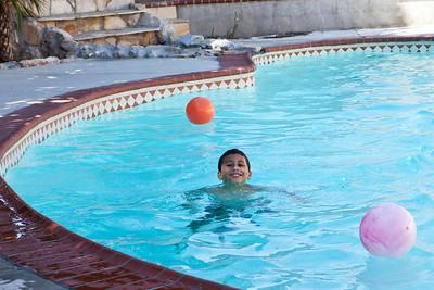 Swimming at Hermine's