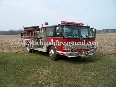 4/6/06 - Onondaga field fire, 4787 Bellevue Rd