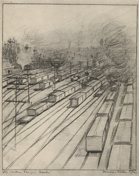 1916, Southern Pacific Tracks