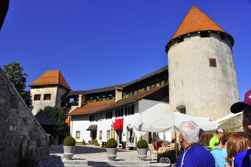 Lake Bled Castle circa 1004