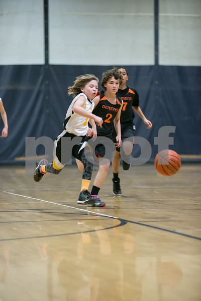 Killer Bees vs Demons Youth Basketball